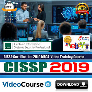 Cissp Certification 2019 Complete 8 Domains 12 Gb Video Training Course Download Ebay