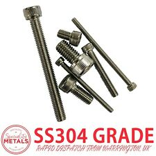 M9 x 1.25 x 50 Titanium Ti Screw Fine Thread Bolt Allen Hex Socket Cap Head