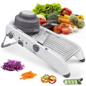 Slicer-Vegetable-Food-Cutter-Adjustable-Blades-Home-Kitchen-Tool-Manual-18-in-1