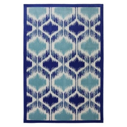 Mohawk Home Shades Woven Area Rug - Blue/Cream
