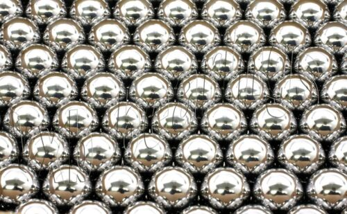 """1//16/"""" inch Diameter Loose Balls SS316 Stainless Steel G100 Pack of 100 16015"""