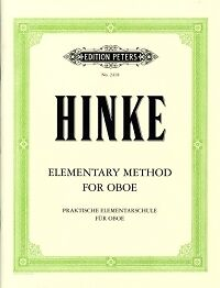 Hinke Elementary Hautbois Method *-afficher Le Titre D'origine Quell Summer Soif