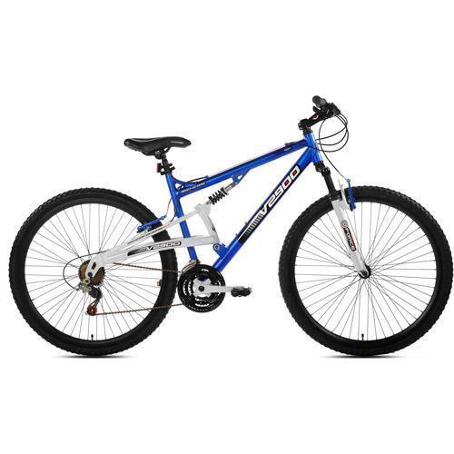 29  Genesis V2900 Men's Mountain Bike, bluee White