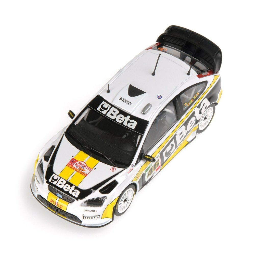 FORD FOCUS WRC  STOBART  ROSSI RALLY RALLY RALLY MONZA   2008      MINICHAMPS  1/43 | Sélection Large
