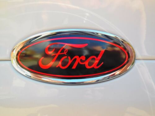 F/&R oval emblem STICKER DECAL OVERLAYS Fits 15 16 17 FORD FOCUS SE TITANIUM
