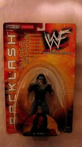 WWF-Backlash-Super-Star-X-Pac-Action-Figure-From-Jakks-Pacific-2000-NEW-t777
