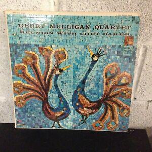 Gerry-Mulligan-Quartet-Reunion-With-Chet-Baker-VG-Vinyl