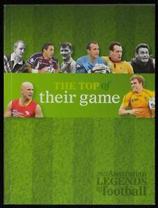 Top-of-Their-Game-2012-Australian-LEGENDS-of-FOOTBALL-Prestige-BOOK-STAMPS-MINT