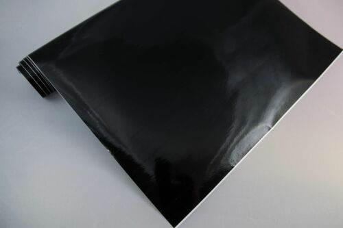 3,2 €//m² film de traceur brillant 2 Noir 100 x 106 cm meubles-Film auto-adhésif