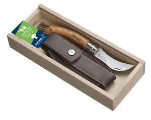 Opinel : Set Couteau Pour Champignons Avec Fourreau En Boîte Bois 001327