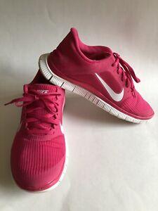 Details about Nike Free 4.0 V3 WoHerren Running schuhe 580406 610 Pink Force Sizes 7.5