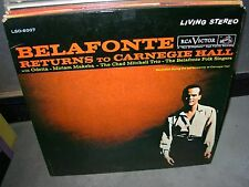 BELAFONTE returns to carnegie hall ( r&b ) - 2lp - stereo -