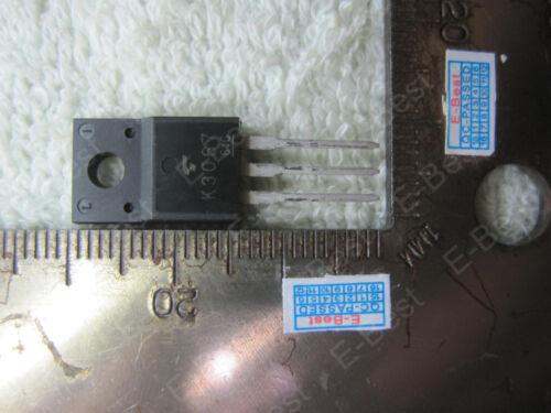 4pcs 2SK3O67 2SK30G7 K3O67 K30G7 K3067 2SK3067 TO220F-3