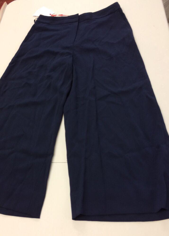 à Condition De B110# Precis Petite Pantalon Bleu Marine Taille Uk10 Rrp £ 69 Circulation Sanguine Tonifiante Et Douleurs D'ArrêT