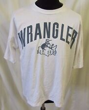 """Vintage Wrangler Cowboy Ranch T Shirt Sz XL 48"""" Chest 1889"""