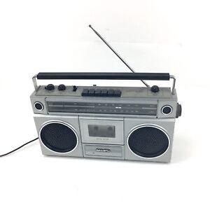 Vintage-SAMPO-Radio-Cassette-Player