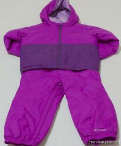 8dd5b838e Columbia Girls 2T 4T Snowsuit Bib Pants Coat Jacket Twisty Cliffs ...
