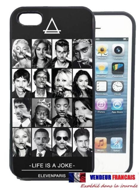 NOUVEAU Coque CASE Iphone 4 5 S C 6 plus Samsung GALAXY S3 4 5 Eleven Paris JOKE