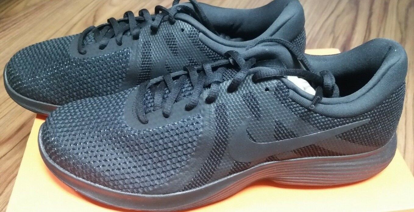 908988-002 Nike Revolution 4 Black Mens Casual Casual Casual Running shoes New e30674