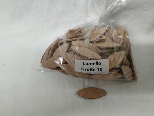 10 // 100 Stück Lamellos Original Verbindungsplättchen Flachdübel Holz  Größe