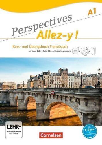 1 von 1 - Perspectives - Allez-y! A1. Kurs- und Übungsbuch Französisch Lösungsheft und CDs