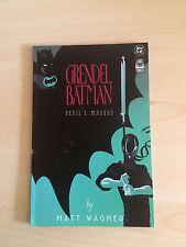 DC COMICS-GRENDEL BATMAN N°2 DEVIL MASQUE-USA- 7/16
