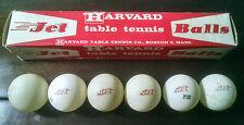Vintage Harvard Jet Table Tennis Ball Set