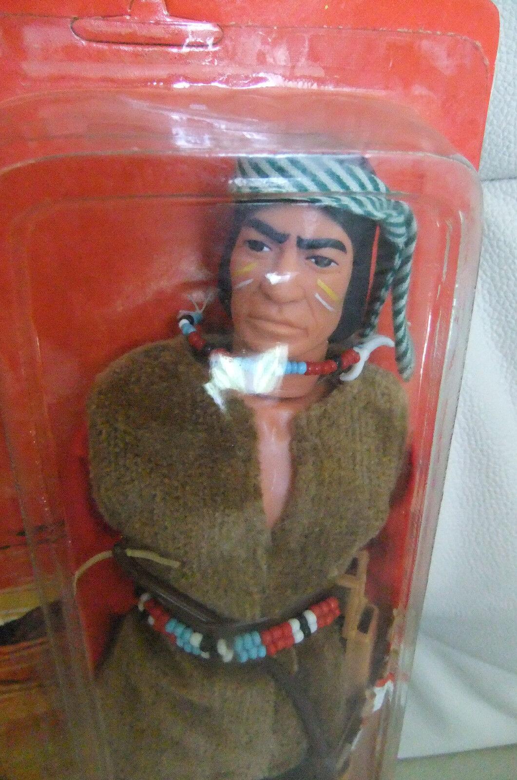 MIB MOC MOSC RED RED RED SLEVES FIGURINE MARX Lone Ranger GABRIEL 1973  1 NRFB 49ee32