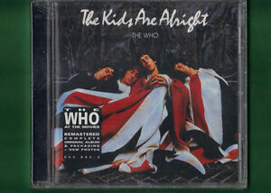 THE-WHO-THE-KIDS-ARE-ALRIGHT-DIGITALLY-REMASTER-CD-NUOVO-SIGILLATO