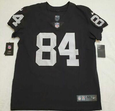 Nike NFL Elite Raiders Antonio Brown on Field Jersey Authentic Size 44