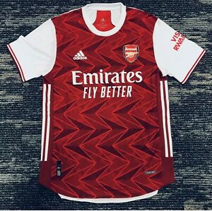 Adidas 2020 2021 ARSENAL Authentic Home Soccer Jersey FH7815 Medium