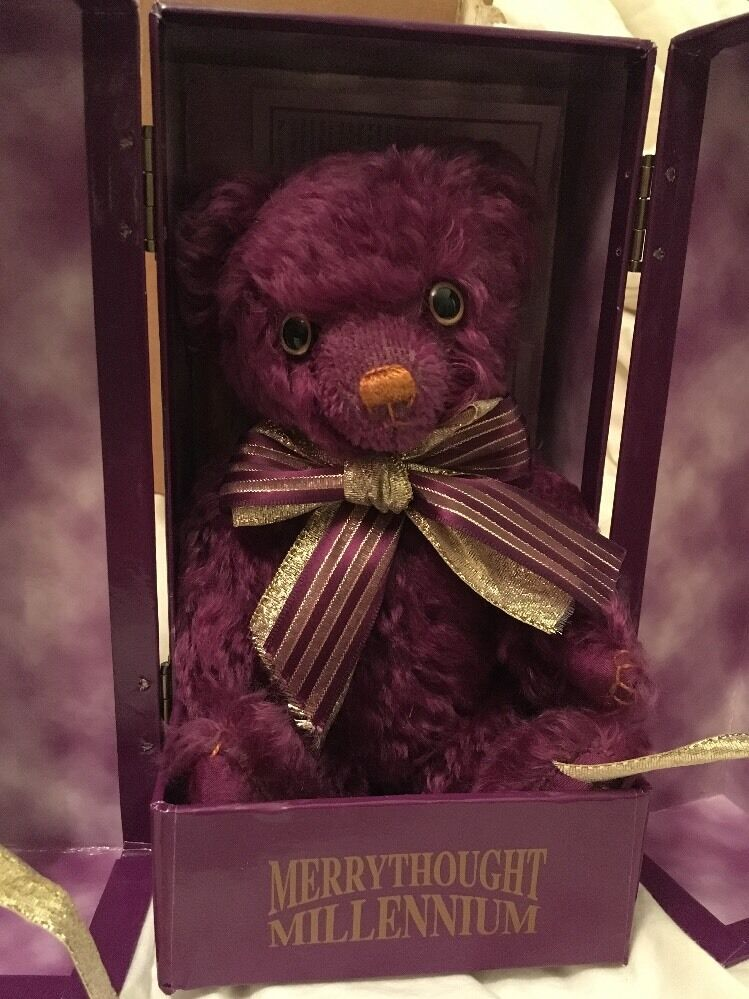 Merrythought Limited Edition 2000 MILLENIUM MAGNETE ORSO numero 91 del 2000