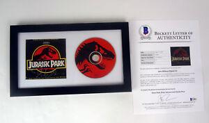 John-Williams-Signed-Autograph-Jurassic-Park-Framed-CD-Beckett-BAS-COA