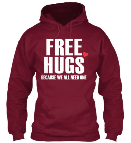 Free Hugs For Everyone Because We All Need One Standard College Hoodie