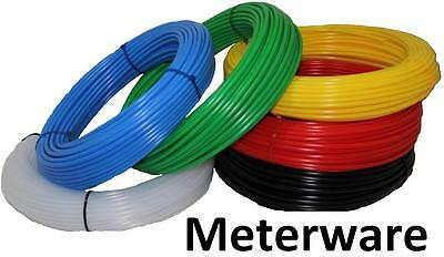 Polyethylen PE - Pneumatik Schlauch - 8 Farben, Länge nach Wunsch, Druckschlauch