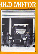 Old Motor Vol 7 No 4 Taxis Villiers Vauxhall 3 litre Daimler Horch Foden Caledon
