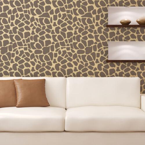 Piedra de textura de la plantilla-Piso Reutilizable plantillas para gran pared arte bricolaje decoración