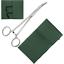 """Ngt pêche à la carpe vert décrochage tapis avec rabat sangles 5/"""" courbé forceps"""