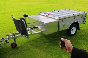 HARD-FLOOR-CAMPER-TRAILER-4WD-OFF-ROAD-CAMPING-Campers-REAR-FOLD-NEW