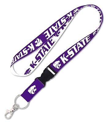 Kansas State Wildcats Breakaway Lanyard Key Chain Ticket Badge Holder College