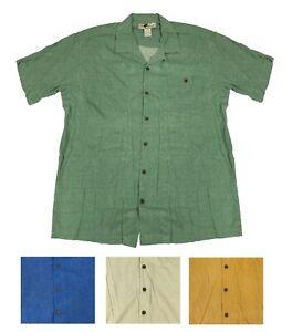 Joe-Marlin-Big-amp-Tall-Men-039-s-Short-Sleeve-Button-Down-Hawaiian-Shirt