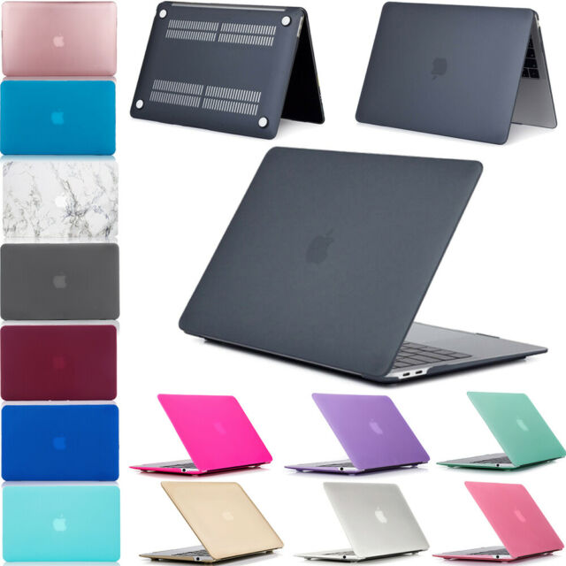 sports shoes 8bb09 6d278 For New MacBook Air 13 Inch A1932 2018 Snap On Hard Shell Protective Case  Cover