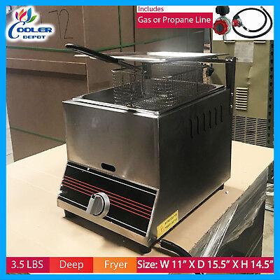 Deep Fryer 3 5 Gal Single Basket