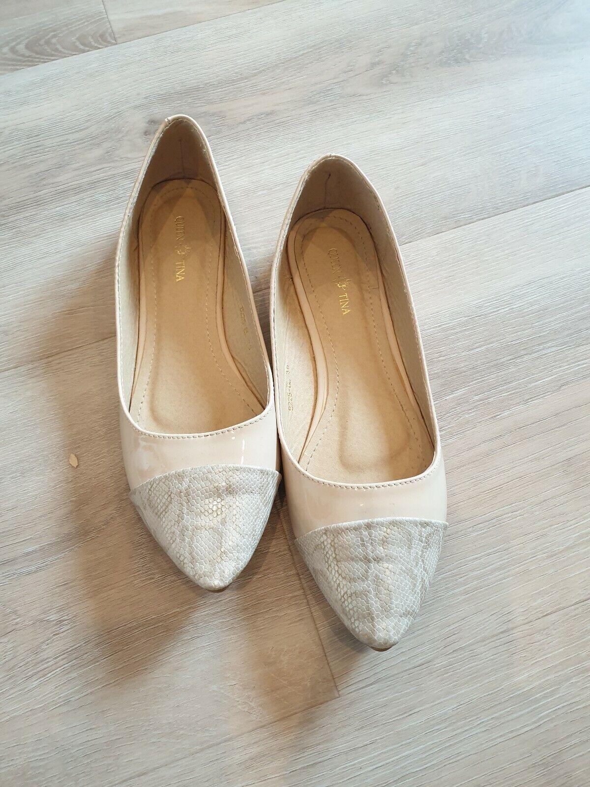 Ballerina Turnschuhe Slipper Elegant Damen Schuhe Gr. 38