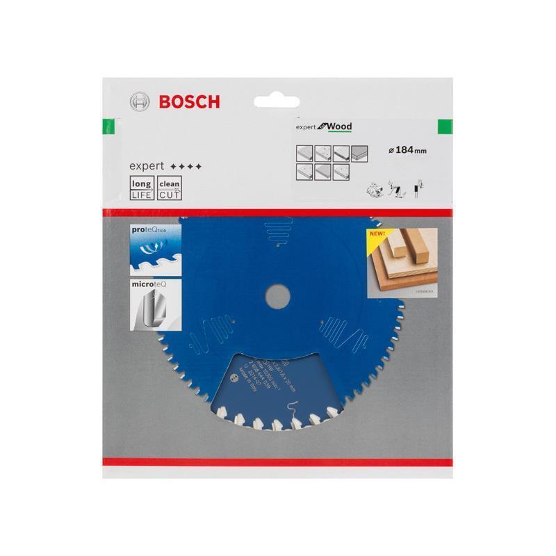 Bosch Hm-Sägeblatt 184x2,6x30 Z24 2608644041 Expert for Wood, für Handkreissägen