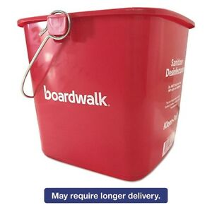 Boardwalk Kleen-Pail Sanitizing Bucket - KP196RD