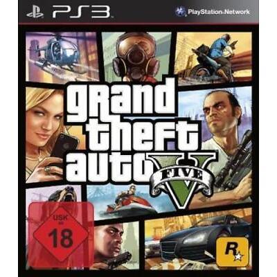 Grand Theft Auto V / GTA 5 - PS3 (USK18)