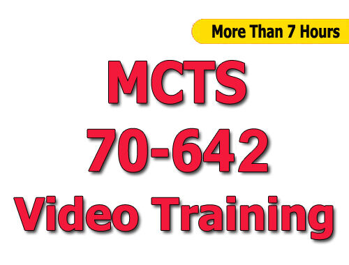 Conf Video Training CBT Windows Server 2008 Network Infrastructure MCTS 70-642