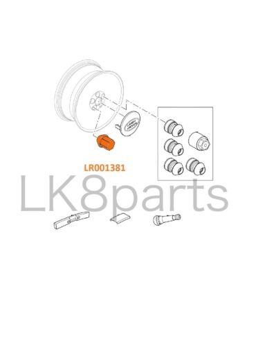 LR2  Lug Nut for Alloy Wheel x1 LR001381 New Land Rover Range Rover Evoque