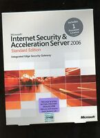 Factory Sealed - E84-00949 Internet Security & Acceleration Server 2006 Standard